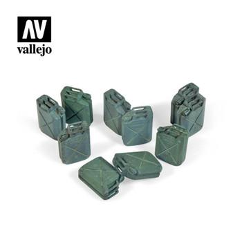 Vallejo SC206 Allied Jerrycan Set