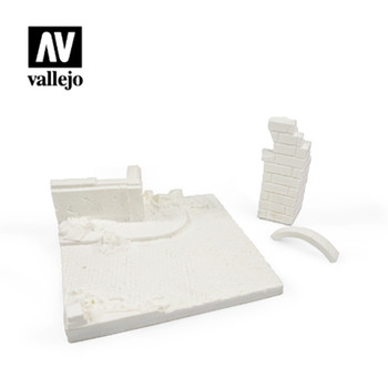 Vallejo SC003 German Ruined Building