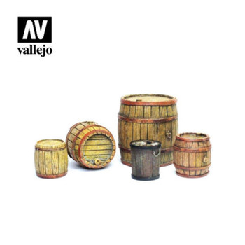 Vallejo SC225 Wooden Barrels