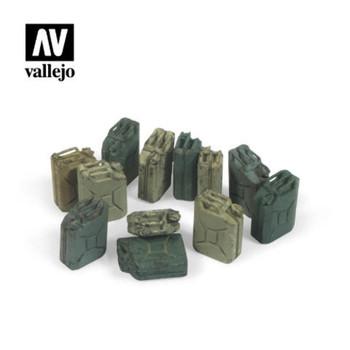 Vallejo SC207 German Jerrycan Set