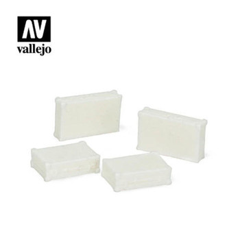 Vallejo SC226 Metal Suitcases