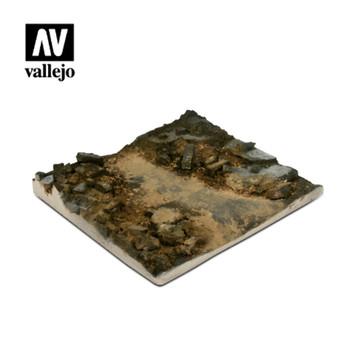 Vallejo SC002 Rubble Street Section