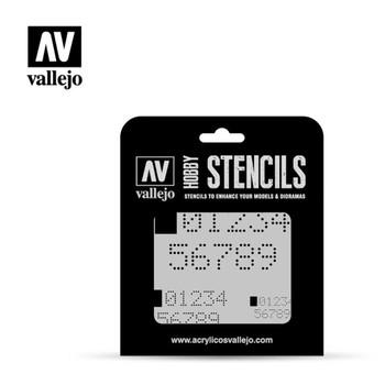 Vallejo ST-SF004 Digital Numbers