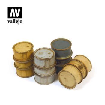 Vallejo SC201 German Fuel Drums (no. 1)