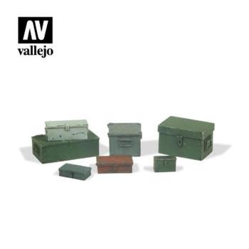 Vallejo SC223 Universal Metal Cases