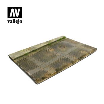 Vallejo SC103 Cobblestone Street with Drain