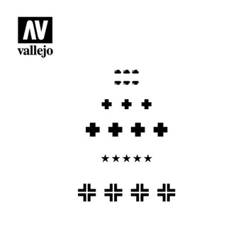 Vallejo ST-AFV001 Assorted German WWII Tank Markings