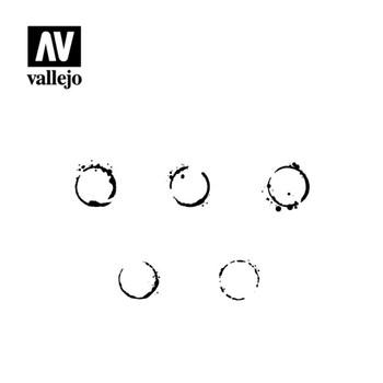 Vallejo ST-AFV002 Drum Oil Markings