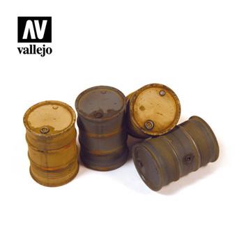 Vallejo SC202 German Fuel Drums (no. 2)