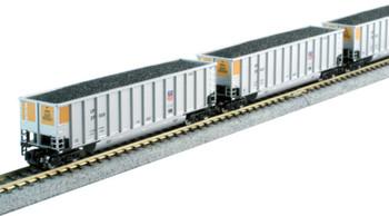 Kato 1064626 N Bethgon Coalporter 8-Car Set - Union Pacific (all new road numbers)