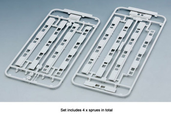 Kato 23-163 N Scale Platform Edge Barrier with Doors for 6 cars x 2