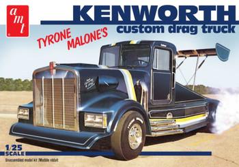 AMT 1157 1:25 Kenworth Custom Drag Truck (Tyrone Malone) Model Kit
