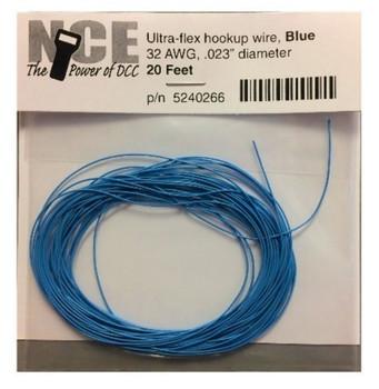 NCE 266 BLUE ULTRAFLEX 32AWG 20FT