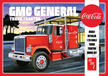 AMT 1179 1:25 1976 GMC General Semi Tractor (Coca-Cola) Model Kit