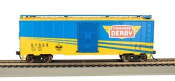Bachmann 16007 HO Scale Boy Scouts Of America 40' Box Car Pinewood Derby