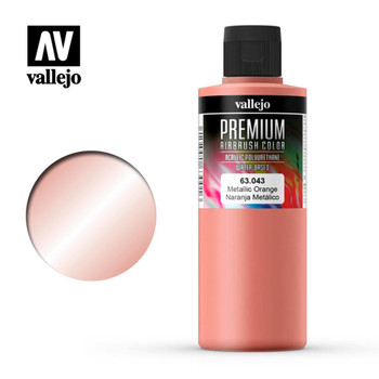 Vallejo 63043 Metallic Orange 200 ml