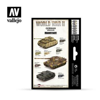 Vallejo 70205 WWII German Armour (6 PK)