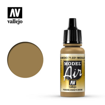 Vallejo 71031 Middle Stone 17 ml