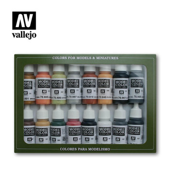 Vallejo 70107 German Colors WWII (16 PK)