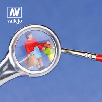 Vallejo T12001 Tweezers with Magnifier