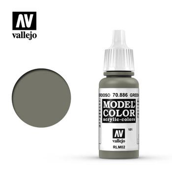 Vallejo 70886 Green Grey 17 ml