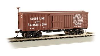 Bachmann 72311 HO Baltimore & Ohio - Globe Line - Old-time Box Car