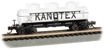 Bachmann 17157 N Kanotex #879 - 3-Dome Tank Car