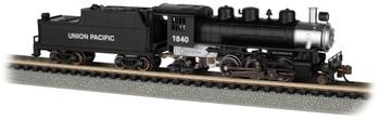 Bachmann 51558 N Union Pacific #1840 - Prairie 2-6-2 & Tender