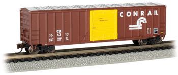 Bachmann 19664 N Conrail- ACF 50.5' Outside Braced Box Car