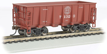 Bachmann 18611 HO Duluth, Missabe & Iron Range #71323, Mineral Red - Ore Car