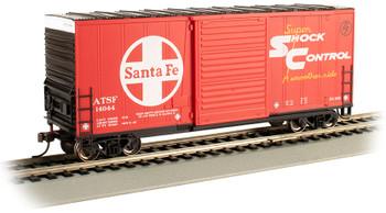 Bachmann 18202 HO ATSF (Santa Fe) - Hi-Cube Box Car