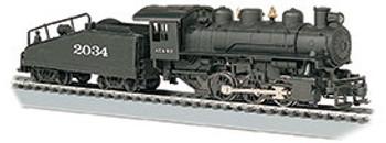 Bachmann 50609 HO ATSF #2034 -USRA 0-6-0 W/Smoke & Slope Tender