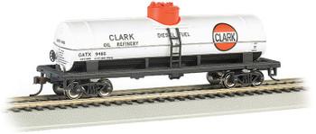 Bachmann 17809 HO Clark #9485 - 40' Single-Dome Tank Car