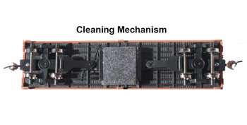 Bachmann 16332 HO Evansville Packing - Track-Cleaning 40' Wood-Side Reefer