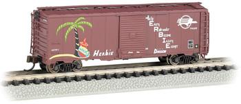 Bachmann 17060 N Missouri Pacific - HERBIE - AAR 40' Steel Box Car