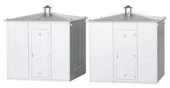 Bachmann 42220 HO Trackside Equipment Buildings (2 per card)