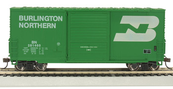 Bachmann 18203 HO Burlington Northern - Hi-Cube Box Car