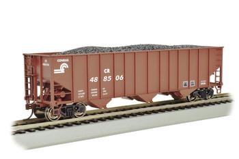 Bachmann 18712 HO Conrail #488506 - Beth Steel 100 Ton 3-Bay Hopper