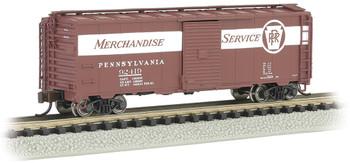 Bachmann 17061 N PRR #92419 Merchandise Service - AAR 40' Steel Box Car