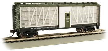 Bachmann 15902 HO Live Poultry Transportation Co. #251 - Poultry Transport Car