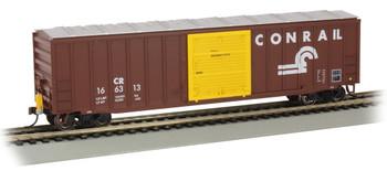 Bachmann 14907 HO 50' Outside Braced Box Car with FRED - Conrail #166313