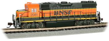 Bachmann 66851 N BNSF #2081 - H1 Scheme (with dynamic brakes) DCC w/Sound