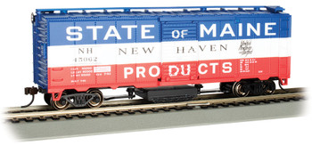 Bachmann 16320 HO New Haven - State of Maine #45062 - Track-Cleaning 40' Box Car