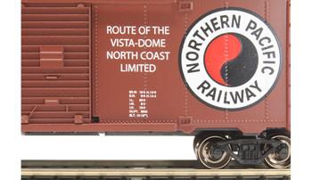 Bachmann 17015 HO Northern Pacific #43099 40' Box Car