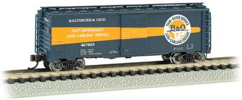 Bachmann 17064 N B&O Timesaver #467603 - AAR 40' Steel Box Car