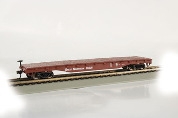 Bachmann 17305 HO Great Northern - 52' Flat Car