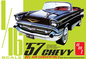 AMT 1159 1:16 1957 Chevy Bel Air Convertible Model Kit
