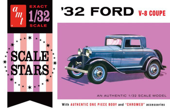 AMT 1181 1:32 1932 Ford Scale Stars Model Kit