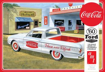 AMT 1189 1:25 1960 Ford Ranchero W/Coke Chest (Coca-Cola) Model Kit