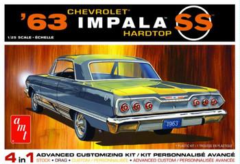 AMT 1149 1:25 1963 Chevy Impala SS Model Kit
